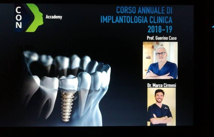 Corso annuale di implantologia clinica